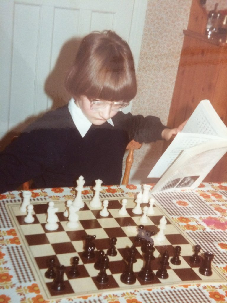 "Studying ""Batsford Chess Openings"" – February 1984"